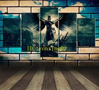 Dishonored, 5 Pieces Home Decor HD Printed Modern Art Paintin...