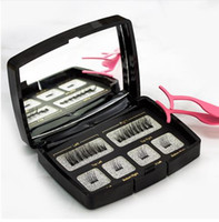 6Pcs set Magnetic Eyelashes Invisible Magnetic Lashes Mink E...