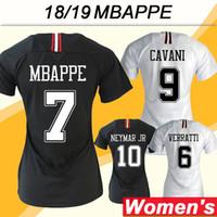 cd76c6382 2018 19 NEYMAR JR MBAPPE Camisetas de fútbol de la Liga de Campeones  Femenina CAVANI DI