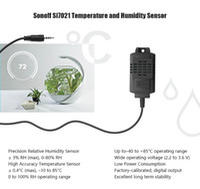Новые поступления Itead Sonoff Si7021 датчик температуры и влажности датчик зонд высокая точность модуля контроля за Sonoff TH10 и Sonoff TH16