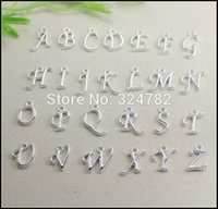 260pcs silver   gold plated Metal Alphabet Letter   A- Z Lett...