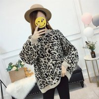 New Autumn Women' s Knitted Sweater Lady' s Loose Le...