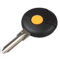 1Button замена Keyless дистанционного брелок ключ Shell чехол для автомобиля BENZ Smart Fortwo 1998-2012