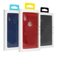 100PCS 사용자 정의 로고 물집 소매 상자 아이폰 7/8 케이스 전화 커버 쉘 전화 액세서리 포장 명확한 패키지 포장