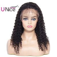 Unice Bettyou Wig Brazilian Curly Wave Lace Front Wigs Human...