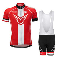 2017 Fieltro Equipo Verano Ciclismo Jerseys Ropa Ciclismo Bicicleta transpirable Ropa de bicicleta Quick Dry Bicycle Sportwear Bike BIB Shorts 3D Gel Pad 82307J