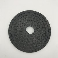 Diamond Polishing Buff Black 6 inch (150 mm) for Dark Granit...
