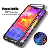360 Magnetic magnet Adsorption metal Hard Case for iPhone X ...