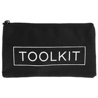Ferramenta impermeável 600D Tecido Oxford Toolkit Zipper Bag Bolsa Zipper Instrumento de armazenamento Carrying Case