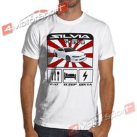 JDM Silvia S15 Drifting T Shirt White or Gray S to 3XL spec-...