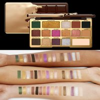 NEW Faced Makeup Palette COCOA Eye Shadow Chocolate Gold Eye...