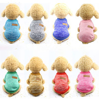 Fashion Pet Dog Clothes For Dogs Hoodies Winter Dog Sweater ...