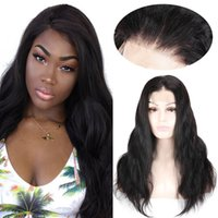 Beauty On Line Body Wave Wigs 4x4 U Part Lace Wig Peruvian R...
