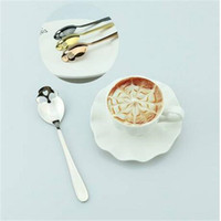 Stainless Steel Sugar Coffee & Tea Stirring Skull Spoon Flat...