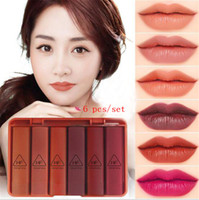 Velvet travel size lipsticks 6pcs set nude matte lipstick wa...