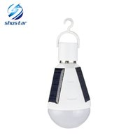 E27 7W 12W Solar Lamp 85- 265V Energy Saving Light LED Intell...
