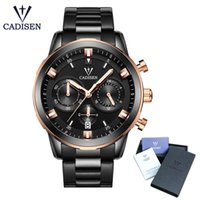 2018 New CADISEN Mens Watches Top Brand Luxury Wrist Watch M...