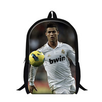 New design cool backpacks for teens, cristiano ronaldo back p...
