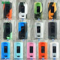 Wismec Reuleaux RX GEN3 Двойная коробка мод 230 Вт Силиконовый чехол для чехол для кожи для RX GEN 3 двойной