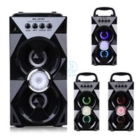 MS- 207BT High Power Bluetooth Dual Wireless Speaker Portable...