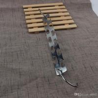 Kleiderständer Zweiseitige Double Faced Einfache Magic Home Wiederverwendbare Ausstattung Edelstahl Eisen Kleiderbügel Neue Ankunft 5 8cn dd
