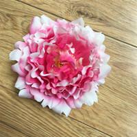 Simulation Pfingstrose Blüte Hochzeit Zeremonie DIY Wand Party Dekoration Prop Künstliche Gefälschte Seidenblumen 1 3hz bb