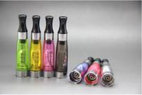 CE4 Atomizador 1.6 ml cigarros eletrônicos vaporizador clearomizer 510 fio para ego bateria visão girador EVOD ego torção X6 X9