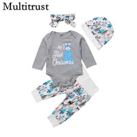 eeea6fb78 Wholesale baby first christmas outfit newborn for sale - Group buy 2018  Multitrust Brand Newborn Baby