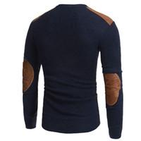Мужской зимний теплый вязаный свитер Повседневный пуловер с длинным рукавом и тонким топом