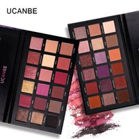 UCANBE Brand 18 Colors Eyeshadow Makeup Palette Shimmer Matt...