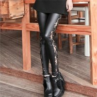 High Quality Slim Lace Leggings High Elasticity Sexy Pants L...