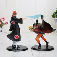 2pcs  Set 18cm Naruto Uzumaki Naruto Vs Pain Pvc Action Figu...