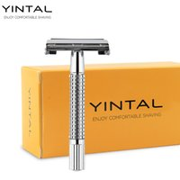 1 Razor + 10 Blades WEISHI Double Edge Safety Razor Copper + ...