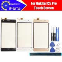 5.0 pollici Oukitel C5 Pro Touch Screen Digitizer 100% di garanzia Touch Panel originale Touch Screen per C5 Pro + strumenti + Adesivo