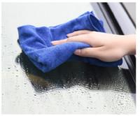 30 * 30cm handdoek blauw nano microfiber auto washanddoek schoonmaakbenodigdheden auto wassen essentieel