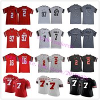 Mens NCAA 7 Dwayne Haskins Jr 2 JK Dobbins 97 Joey Bosa 16 JT Barrett IV 15 Ezequiel Elliott Ohio Estado Buckeyes College Football jerseys