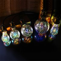 Led Light Bulb 3D Decoration Bulb E27 4W 220- 240V Holiday Li...