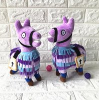 Kids Plush Toys 25cm Fortnite Stash Llama Plush Toy 10'...