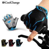 Cycling Gloves Half Finger Mens Women' s Summer Sports S...