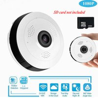 Wifi Mini IP Camera 360 Degree Home Security Wireless Panora...