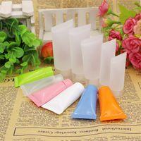 Пластиковый макияж Субпакет бутылка крем для лица контейнер очищающее средство для лица трубка шланг многоцветные горячие продажи 0 5ym6 C R9