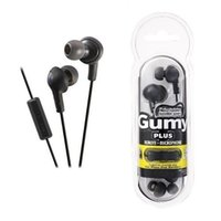Vendita calda Gumy Gummy Auricolare 3.5mm Cuffie HA-FR6 Gumy Plus con MIC per Iphone 6 Plus 5 5s 5c Ipad Samsung