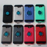 Para LG Stylo 6 K51 híbrido Camada Armadura Phone Case dupla capa para Samsung A01 A11For Motorola G Stylus Kickstand à prova de choque Caso D1