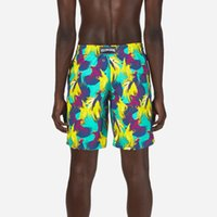 Vilebre Erkek Mayo Seksi Kurulu Şort Plaj Sörf Ter Mesh Astar Erkekler Mayolar Mayo Plavky 3D Baskı Renk