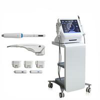 신기술 2 in 1 가정 사용 hifu 초음파 피부 강화 기계 / hifu 질 질 강화 기계