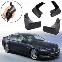 Nuevo 4Pcs Guardabarros guardabarros Guardabarros Fender guardabarros apto para Jaguar XF Sedan 2012 2018