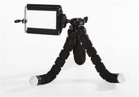 حجم صغير مرنة الإسفنج الأخطبوط ترايبود حامل حامل القوس لكاميرا الهاتف المحمول العمل مع كليب جبل
