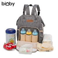 Multifunctional Mummy Backpack Newborn Baby Diaper Nappy Cha...