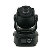 2 adet / grup Yeni Sıcak satış 90 W LED Spot Hareketli Kafa Işık / ABD Lillings 90 W LED DJ Spot Işık