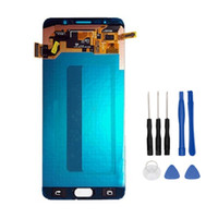 Super AMOLED LCD pour Galaxy Note 5 N9200 N920T N920A N920I N920G Ecran tactile Digitizer Assembly + Outils